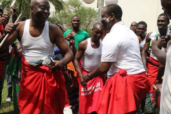 Guillaume Soro à Krindjabo