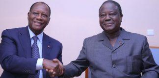 Alassane Ouattara et Henri Konan Bédié d'accord sur plusieurs points