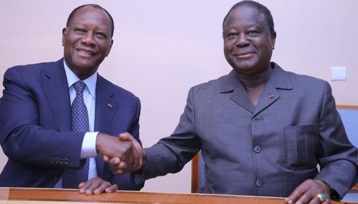 Alassane Ouattara et ses adversaires politiques