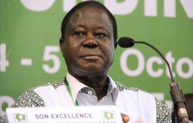 Henri Konan Bédié entend mettre de l'ordre au sein du PDCI