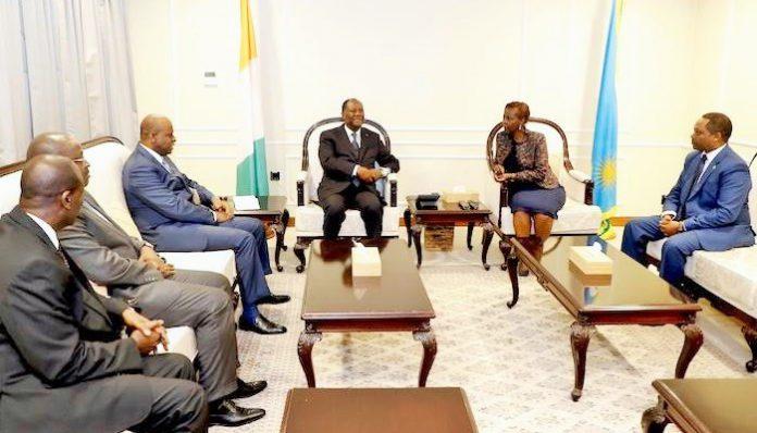 Alassane Ouattara à Kigali depuis le mercredi 25 avril 2018