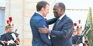Alassane Ouattara a été reçu à l'Elysée par Emmanuel Macron, ce vendredi 20 avril 2018