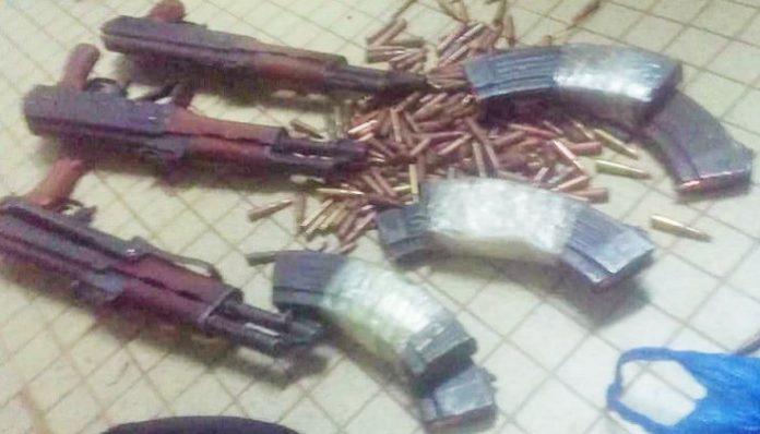 Des armes volées lors de l'attaque de la préfecture de Daloa