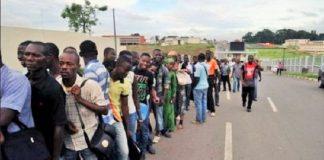 Jeunes demandeurs d'emploi en Côte d'Ivoire