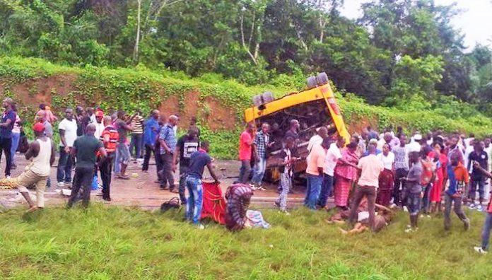 L'accident a causé la mort de 4 personnes