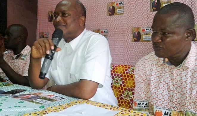 Azoumana Moutayé et Lazare Gbeuli Gbagbo
