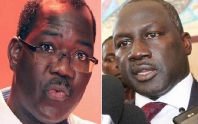 Brahima Soro de l'UPCI et Adama Bictogo du RDR