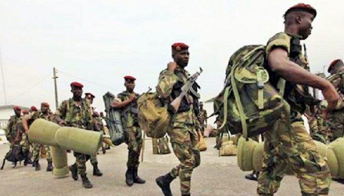 Départ à la retraite de militaires ivoiriens