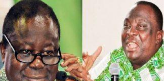 Henri Konan Bédié et Kobenan Kouassi Adjoumani