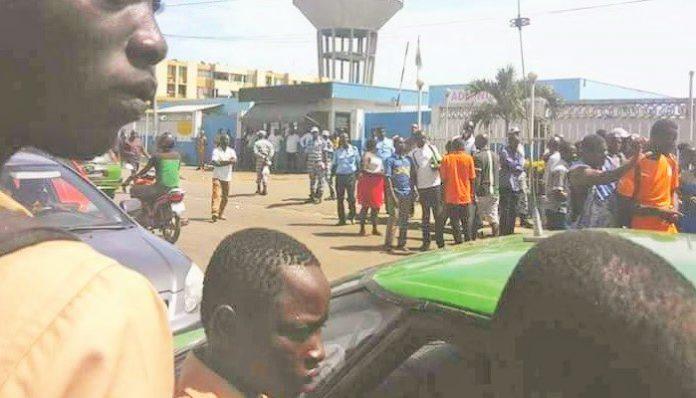 Affrontements élèves et policiers ce mardi 15 mai 2018 à Koumassi à Abidjan