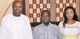 Le couple Mabri reçu par Bédié le 11 mai 2018