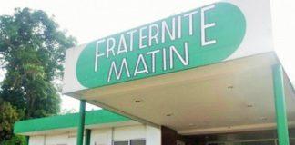 Le siège de Fraternité Matin à Adjamé