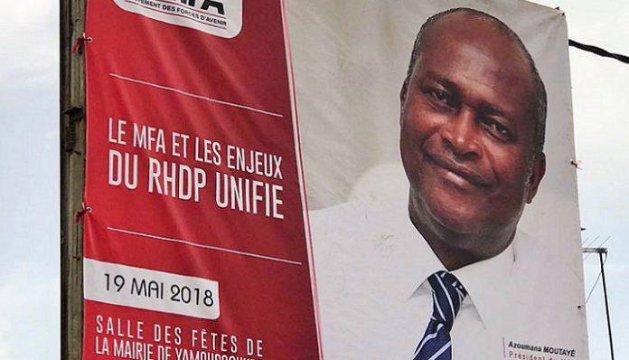 Azoumana Moutayé compte bien maintenir son congrès à Yamoussoukro