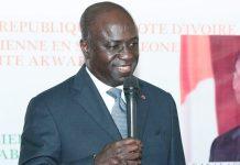 Marcel Amon-Tanoh, ministre des affaires étrangères de Côte d'Ivoire