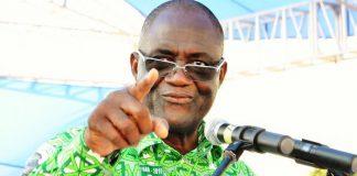 Maurice Kakou Guikahué à Koun Fao a répondu indirectement à Alassane Ouattara