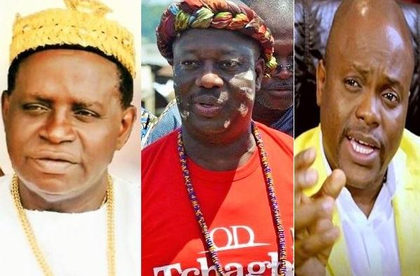 Noël Akossi Bendjo, Ouattara Dramane dit OD et Fabrice Sawegnon, les trois candidats déclarés à la mairie du Plateau