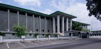 Palais de justice d'Abidjan