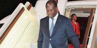 Alassane Ouattara est rentré précipitamment de France le mercredi 20 juin 2018 suite aux inondations en Côte d'Ivoire