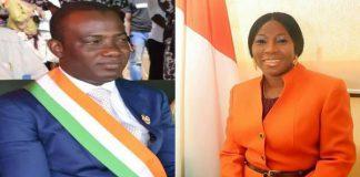 Alpha Yaya Touré et Kandia Camara