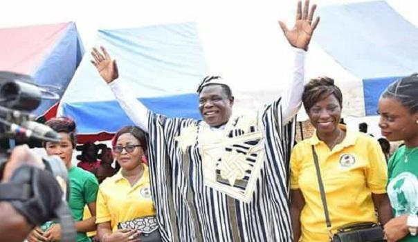Basile Junior Gouali Dodo, candidat déclaré à la présidentielle de 2020