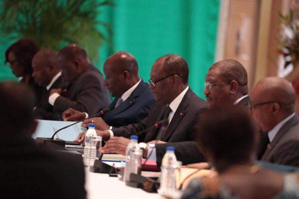 Conseil des ministres présidé par le président Alassane Ouattara, ce mercredi 27 juin 2018 à Yamoussoukro