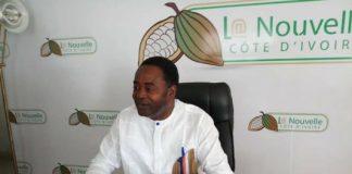 Gnamien Konan lors d'une conférence de presse le 06 juin 2018 à Abidjan au siège de La Nouvelle Côte d'IvoireGnamien Konan lors d'une conférence de presse le 06 juin 2018 à Abidjan au siège de La Nouvelle Côte d'IvoireGnamien Konan lors d'une conférence de presse le 06 juin 2018 à Abidjan au siège de La Nouvelle Côte d'Ivoire