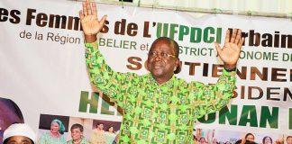 Jeannot Ahoussou-Kouadio s'est prononcé en faveur du parti unifié