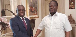 KKB et Henri Konan Bédié