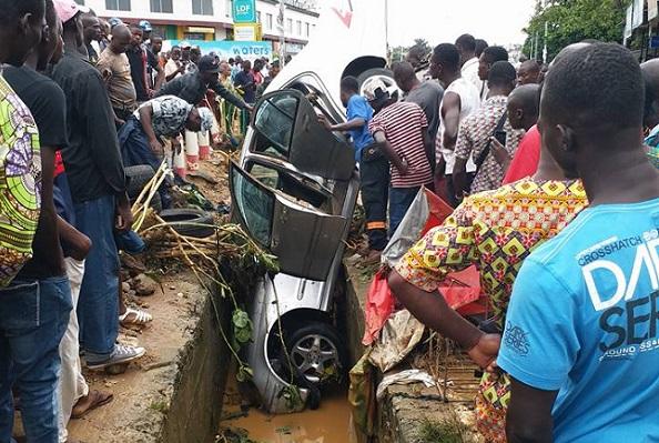 le caniveau à ciel ouvert a été à l'origine de la mort de Mohamed Konaté dit Delmas