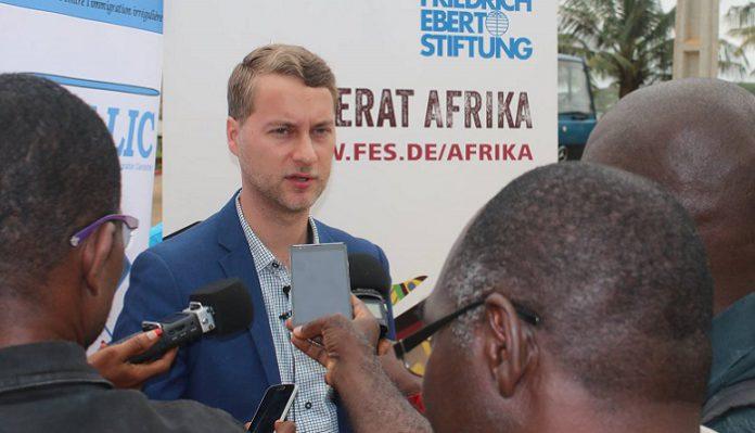 Thilo Shone représentant résident de la Friedrich-Ebert-Stiftung Côte d'Ivoire