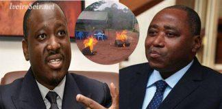 La rivalité politique entre Guillaume Soro et Amadou Gon Coulibaly a causé la mort d'une personne ce samedi 7 juillet 2018, à Korhogo