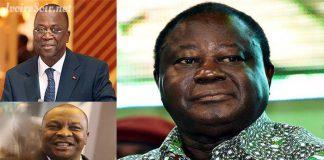 Jeannot Ahoussou Kouadio ne semble pas adhérer au courant lancé par Kobenan Kouassi Adjoumani, contre Henri Konan Bédié