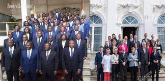 Les gouvernements de la coalition au pouvoir en Côte d'Ivoire et de la coalition au pouvoir en Allemagne