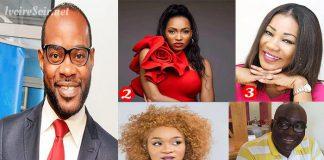 Le top 5 des journalistes de Côte d'Ivoire André Silver Konan, Caroline Da Silva, Line