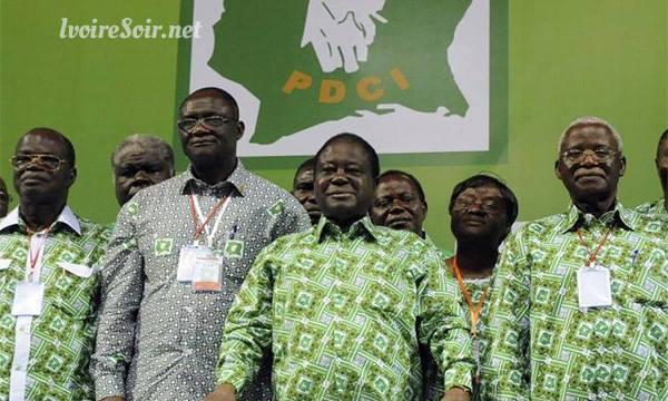 Henri Konan Bédié, Maurice Kakou Guikahué et la direction du PDCI