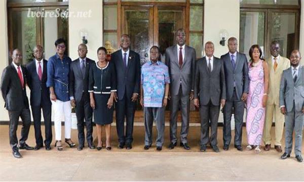 Des frustrés et déçus de la gouvernance Ouattara chez Henri Konan Bédié, le jeudi 26 juillet 2018