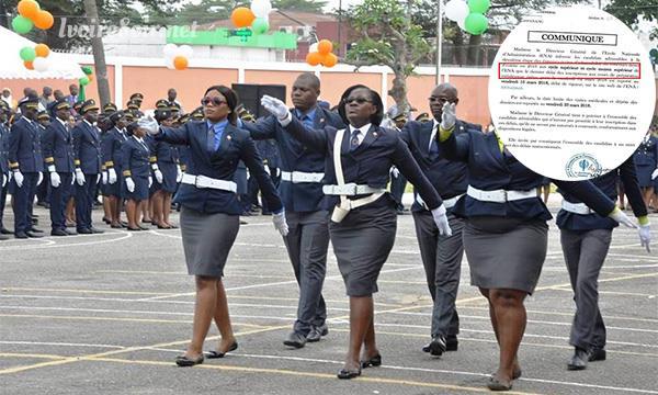Une vraie corruption à l'ENA d'Abidjan