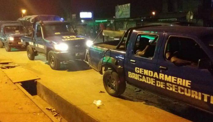 La gendarmerie s'est déployée à Abobo Akeikoi