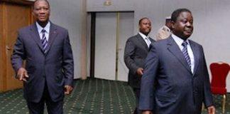 Alassane Ouattara, Henri Konan Bédié et Guillaume Soro ne parlent plus le même langage