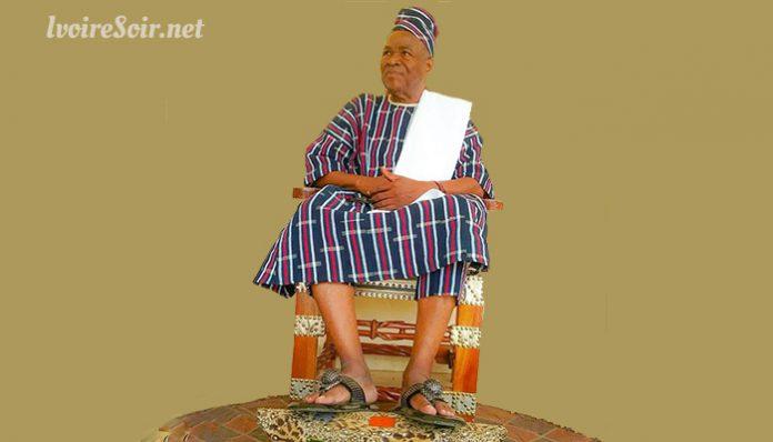 Djakoroni II roi de Bouna 2 signé