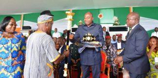 Amadou Gon Coulibaly à Gagnoa ce dimanche 1er juin 2018