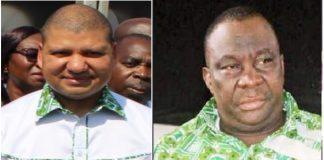 Jean-Louis Billon et Kobenan Kouassi Adjoumani
