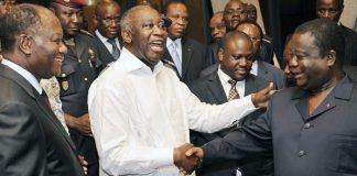 La réconciliation nationale est en panne en Côte d'Ivoire et est symobolisée par la grande hypocrisie entre partisans de Ouattara, Gbagbo et Bédié