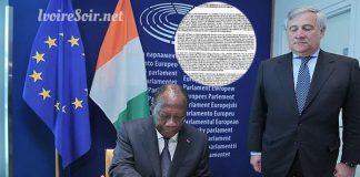 Rapport de l'Union européenne sur la Côte d'Ivoire avril 2018