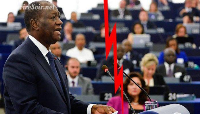 Union européenne Ouattara, c'est désormais le divorce
