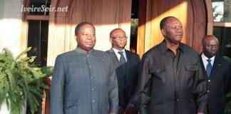 Henri Konan Bédié et Alassane Ouattara se sont entretenus ce mercredi 8 août 2018