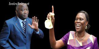 Simone Gbagbo et laurent Gbagbo