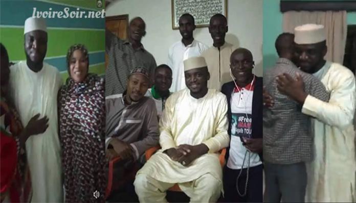 Libération de l'imam Aguib Touré