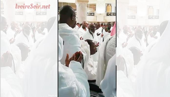 Alassane Ouattara à la Mecque ce 19 août 2018