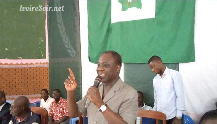 Niamien N'Goran maintient sa candidature aux régionales dans la région de l'Iffou
